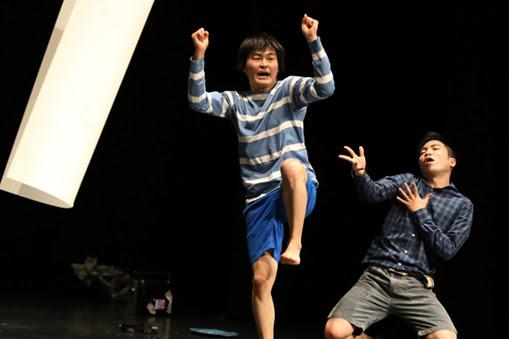 横Aokid × 橋本匠『we are son of sun!』(世界初演) コンペティションⅠ 受賞者公演