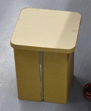 夏休み特別企画 「自由研究ラボ – やってみよう!作ってみよう! – 」環境自由研究「リサイクル紙で丈夫な椅子を作ろう」
