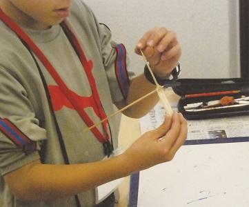 夏休み特別企画「自由研究ラボ -やってみよう!作ってみよう! -」実験工作教室「竹トンボを作って飛ばそう」
