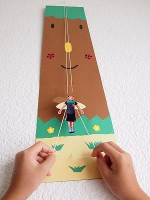 夏休み特別企画 「自由研究ラボ -やってみよう!作ってみよう!-」チャレンジ教室 「自分がのぼる!?のぼり人形を作ろう!」