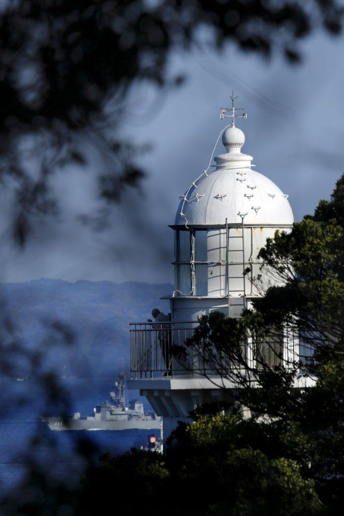 「観音埼灯台」や日本遺産に登録された史跡もある県立公園