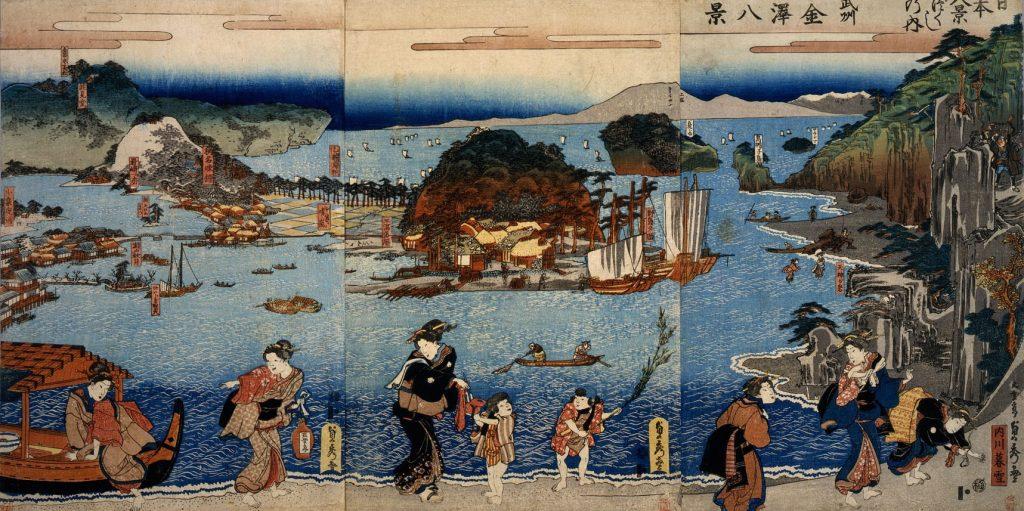 【金沢八景】浮世絵師たちが好んで描いた景勝地
