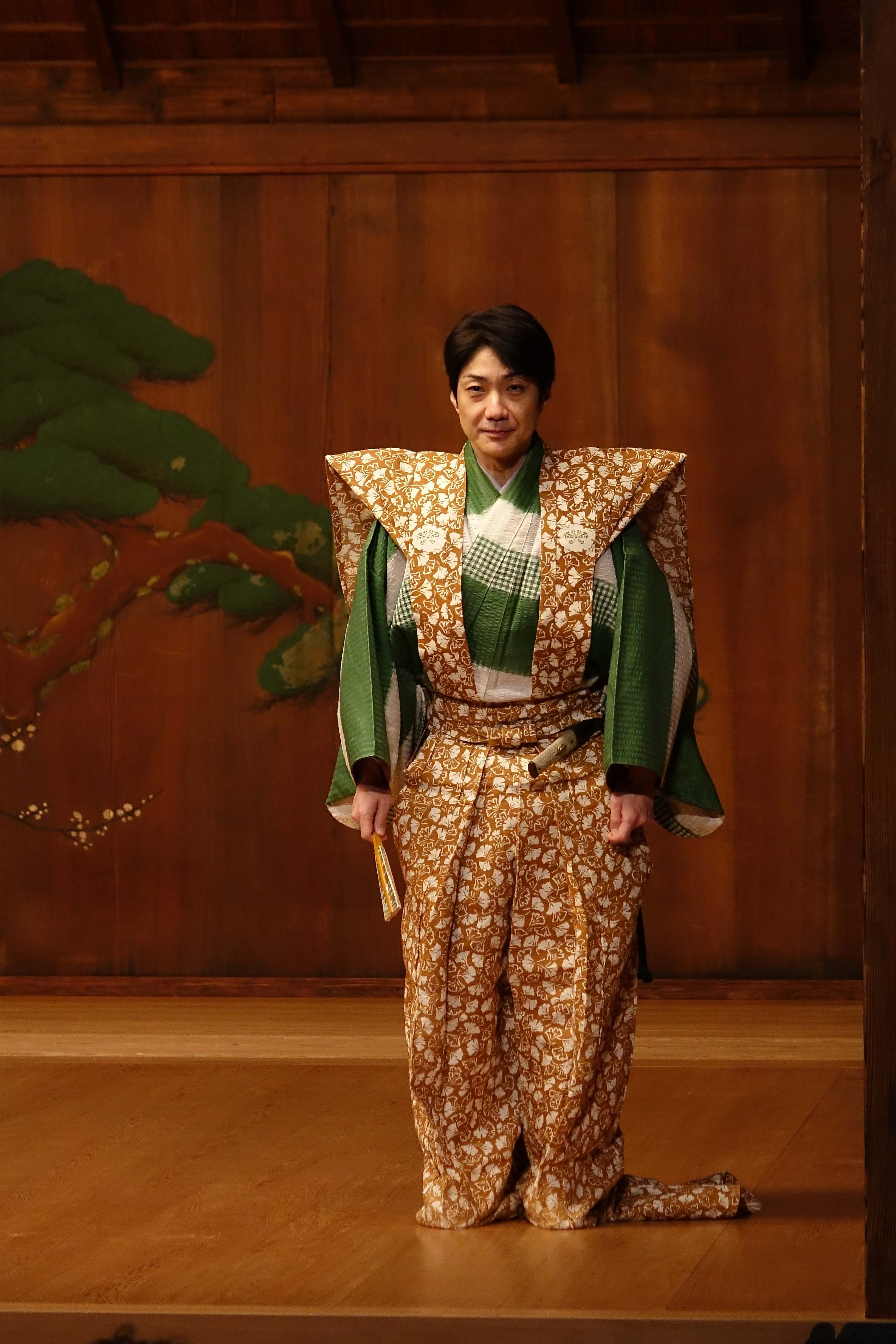 "Kanta Nakamori x曼西·野村(Mansai Nomura)""知識與樂趣!能和Kyogen的世界"""