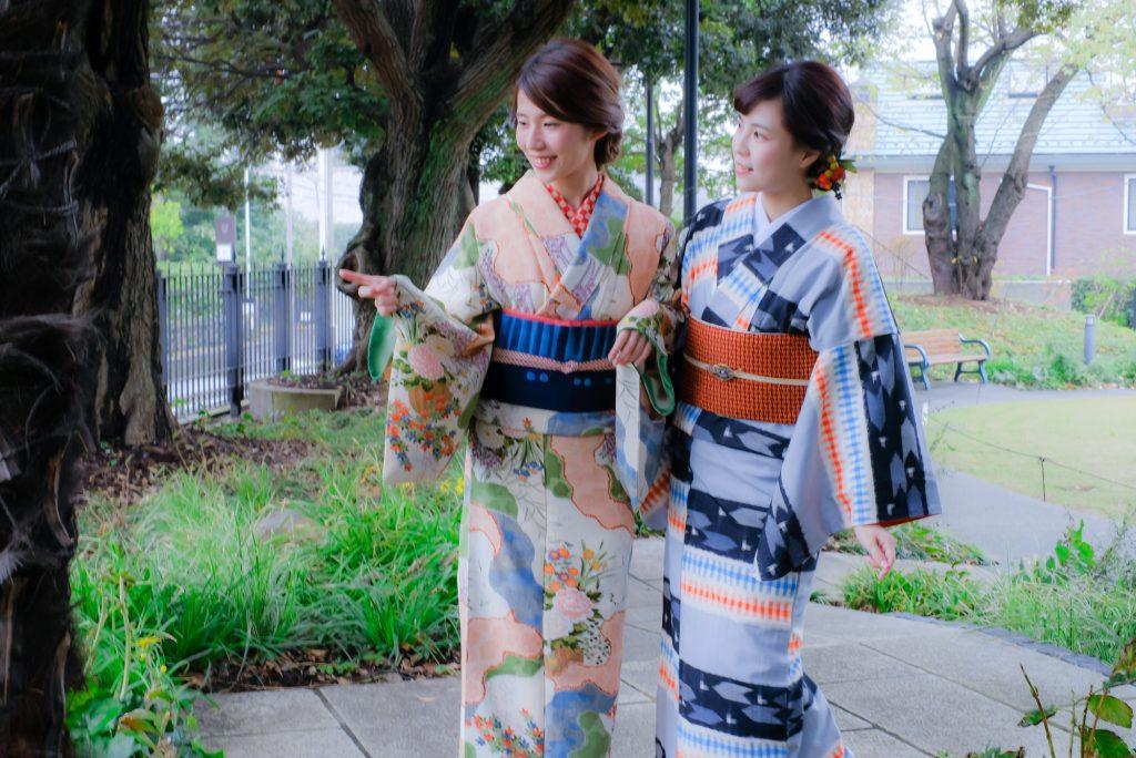 和装で楽しむ鎌倉散歩<あんさんぶる>