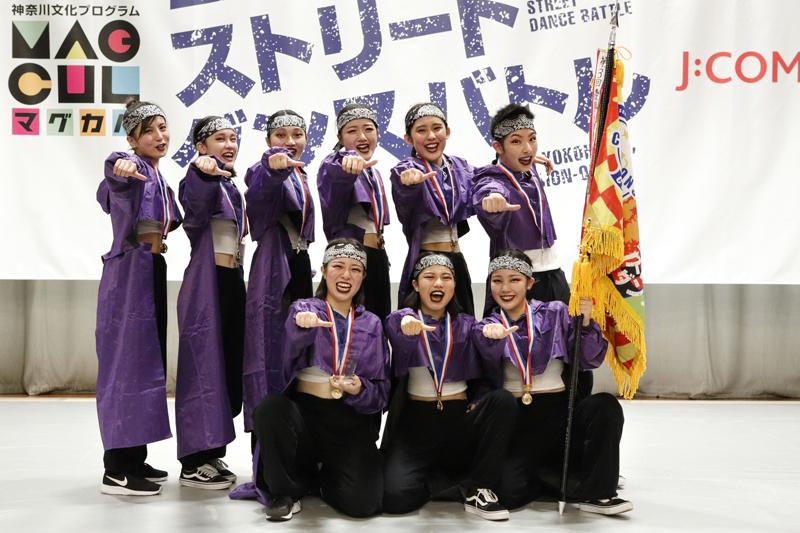 頂点めざして、ひとつに!「第4回全国高等学校日本大通りストリートダンスバトル」