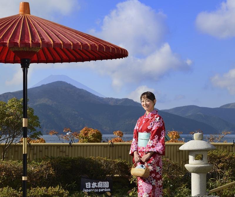 箱根で和文化体験<箱根関所 旅物語館>