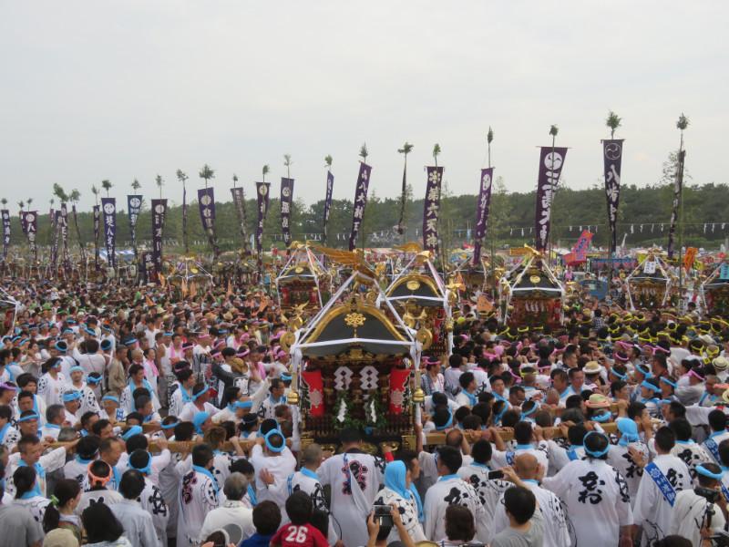 (茅ヶ崎市)[茅ヶ崎海岸浜降祭]