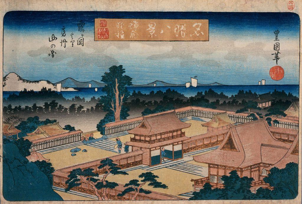 【鎌倉】鶴岡八幡宮の本宮からは、海が見えるのか?