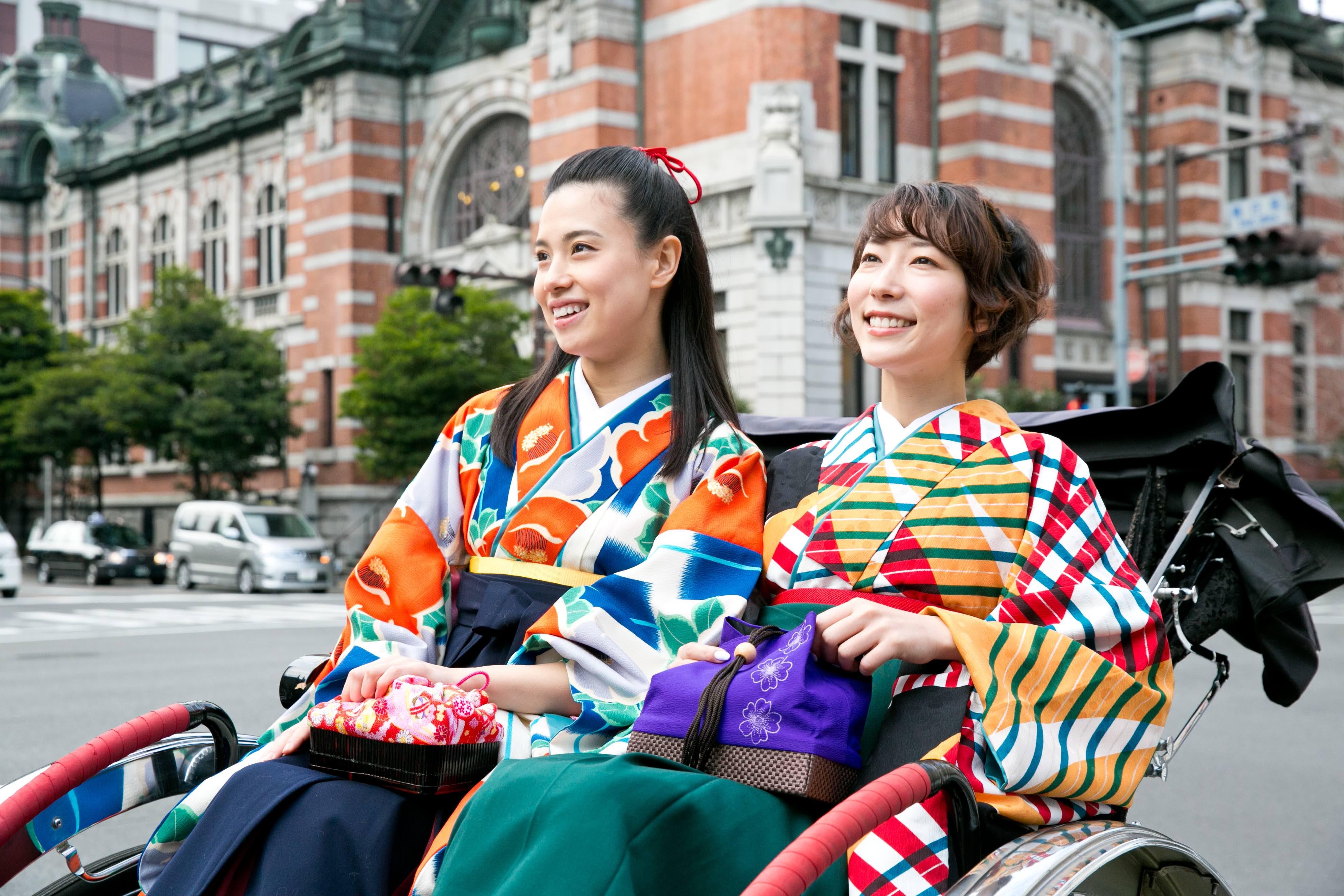 요코하마의 관광 거점에도 <요코하마 하이칼라 기모노관>