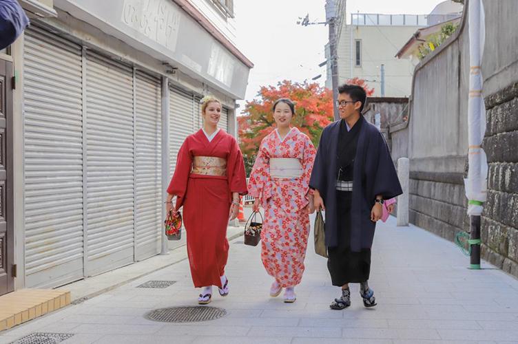 【和服】传统的日本民族服装