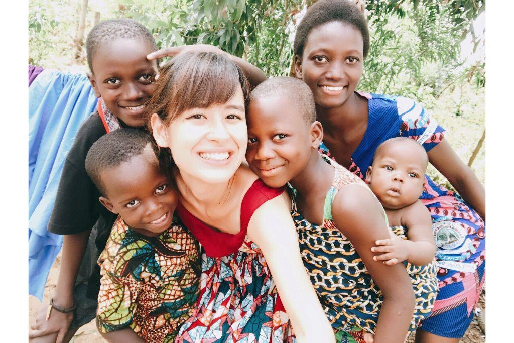 アフリカと横浜の絆を表現する写真パネルとプロモーション動画を展示