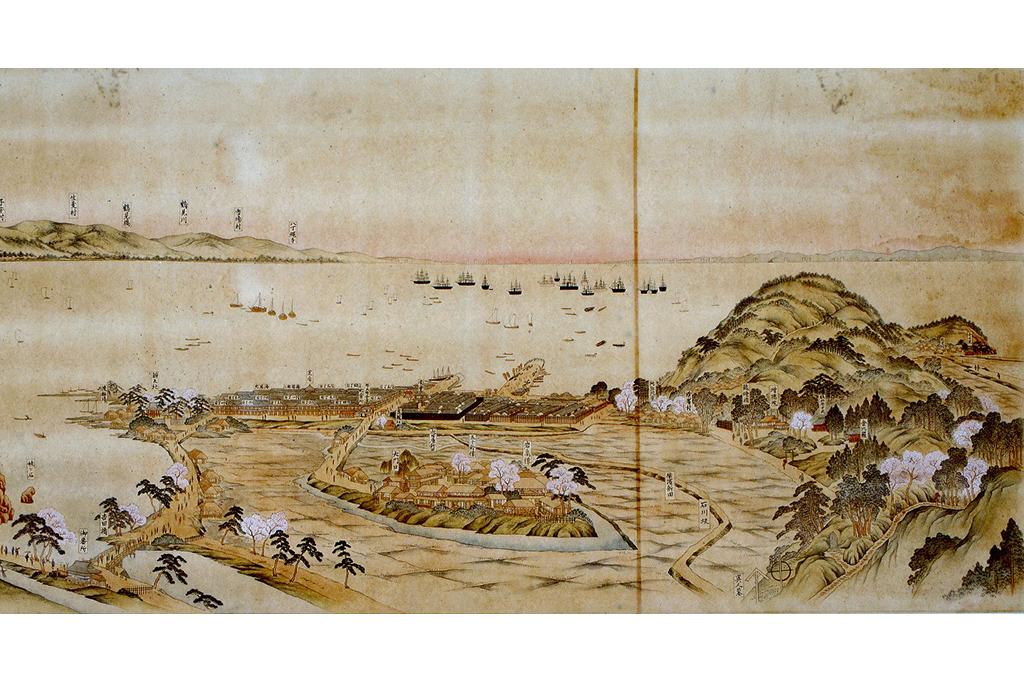 横浜の最初の波止場は誰がつくったの? 開港翌年の横浜の絵図も初公開!