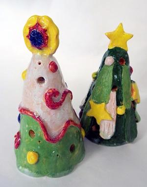 わくわく日曜造形講座「焼きものでクリスマスの飾りをつくろう」