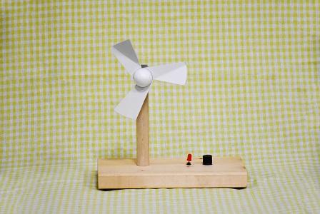 夏休み特別企画「自由研究ラボ~宿題だって楽しみたい!~」チャレンジ教室「タワー型風力発電機を作って発電について学ぼう」