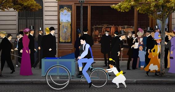 横浜フランス月間2019 ミッシェル・オスロ 『ディリリとパリの時間旅行』 展