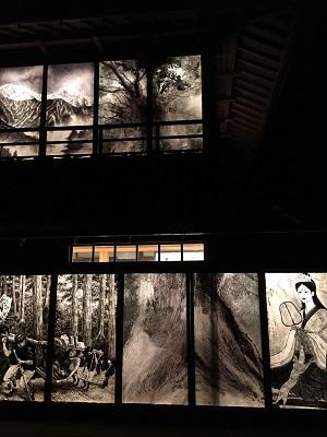 あざみ野アーティスト村芸術展(日本画家 伊東正次と日中蒙友好展と油障子展示)