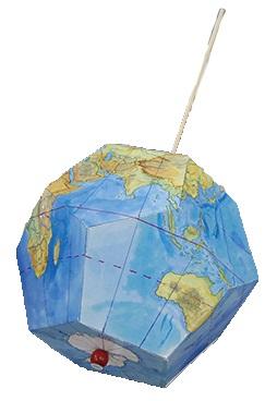 夏休み特別企画「自由研究ラボ~宿題だって楽しみたい!~」 環境体験教室「環境地球儀を作ろう」