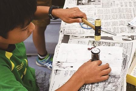 夏休み特別企画「自由研究ラボ~宿題だって楽しみたい!~」 科学実験教室「手作り乾電池教室」