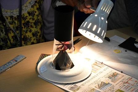 夏休み特別企画「自由研究ラボ~宿題だって楽しみたい!~」 科学実験教室「太陽の光で風車を回そう」