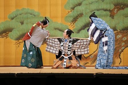 はじめて楽しむ歌舞伎 「立ち廻り体験講座」 & 松羽目狂言 「棒しばり」
