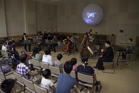 横浜音祭り2019 発達障がい支援ワークショップ IN 横浜 音と光の動物園