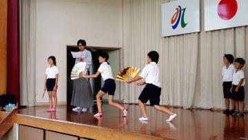 Rokujizo,与孩子们一起工作的全新的Kyogen