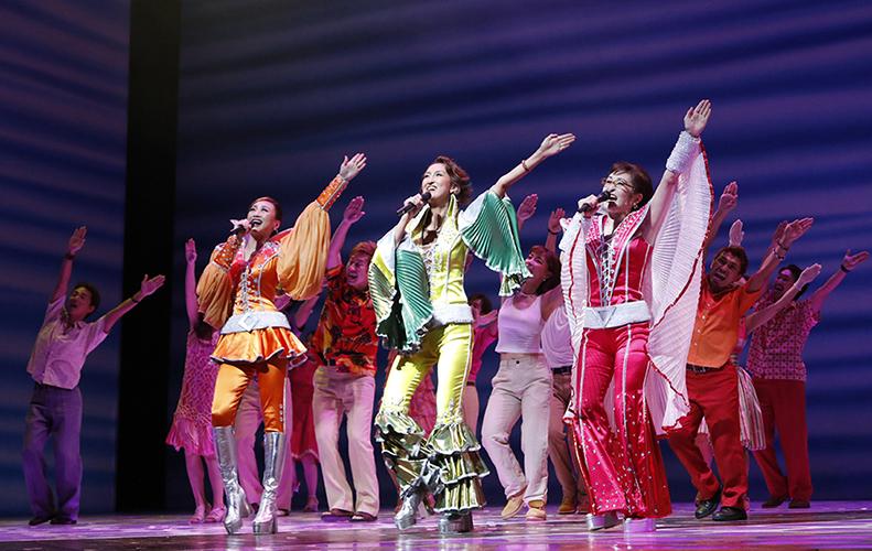 音乐剧《妈妈咪呀!》让每个人都开心在横滨!