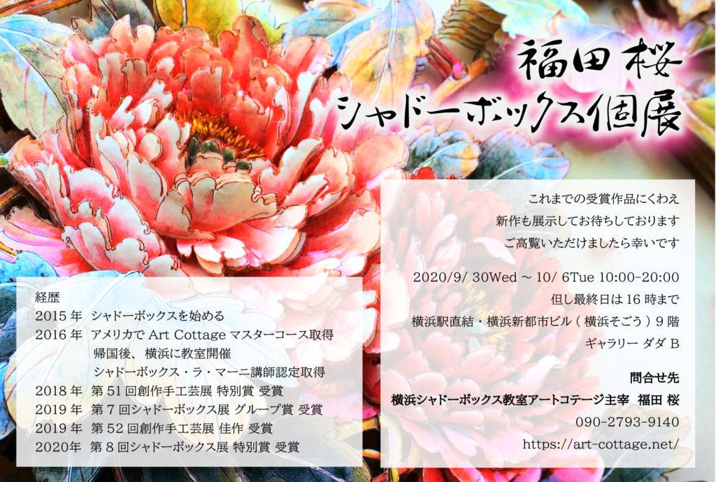 【d】  福田桜 シャドーボックス個展