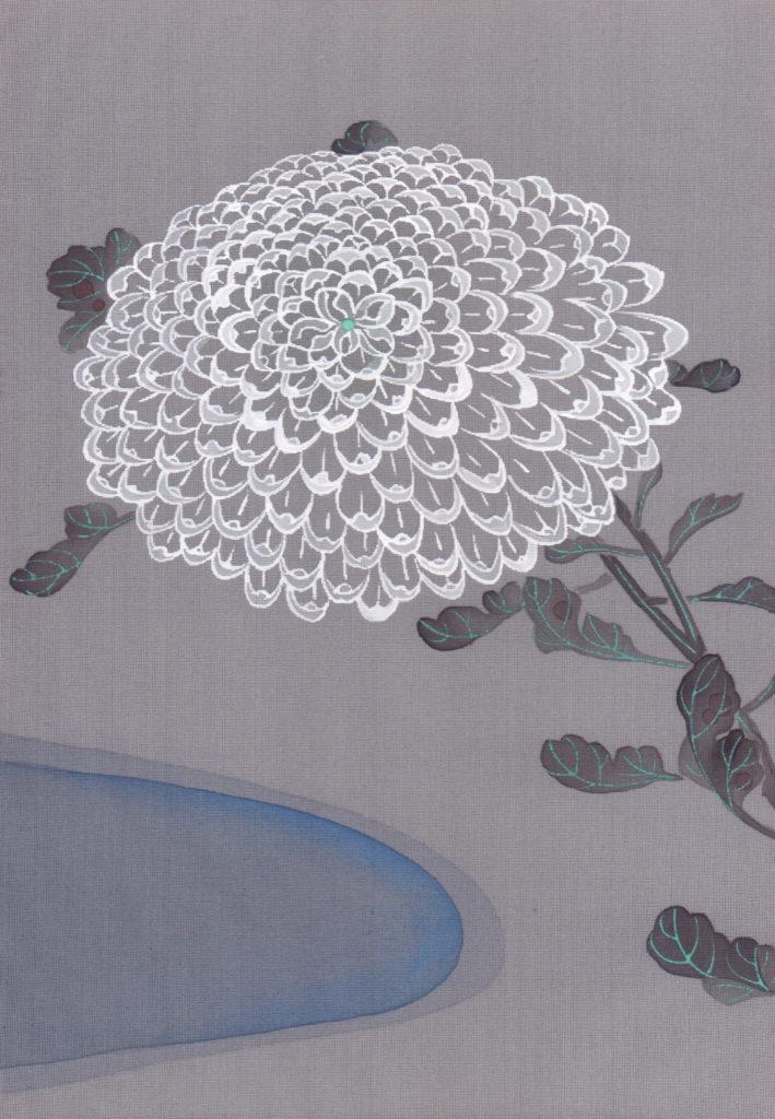 【d】  大人のためのアトリエ講座「はじめての日本画 絹に描くー若冲の彩色に学ぶ」
