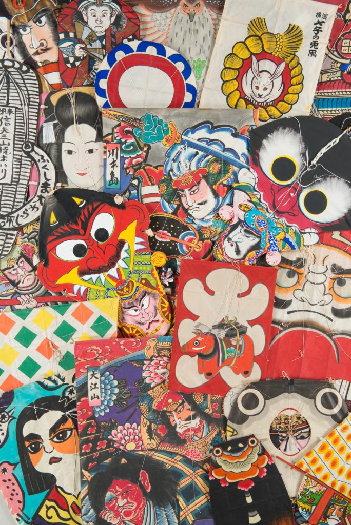 【d】  金子富夫凧コレクション 大空を彩るアート–凧で旅する日本と世界–