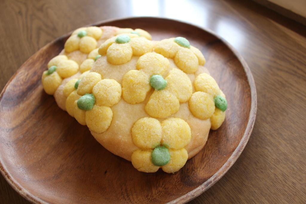 【期間限定体験プログラム】『菜の花メロンパン』を手作りしよう!