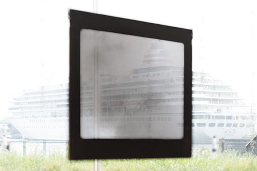【d】  ZOU-NO-HANA GALLERY SERIES vol.4 「大洲大作展 黒い窓」