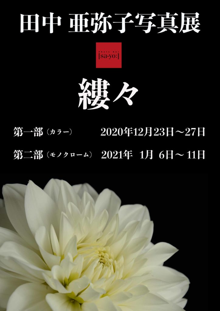 【d】  田中亜弥子写真展「縷々」