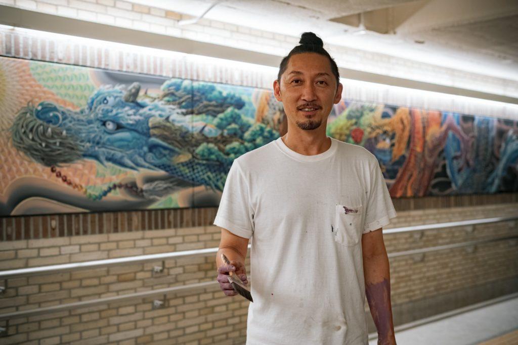 【d】  KENSUKE TAKAHASHI アートワークショップ2020作品展示@大倉山記念館