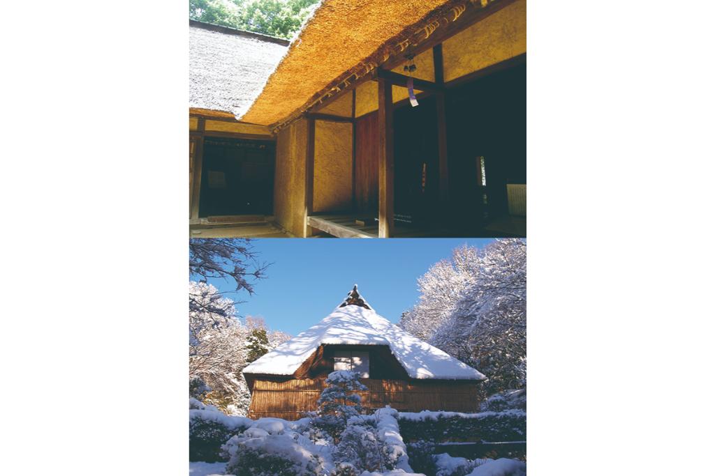 日本の気候に合わせて使われた道具や衣服などを展示