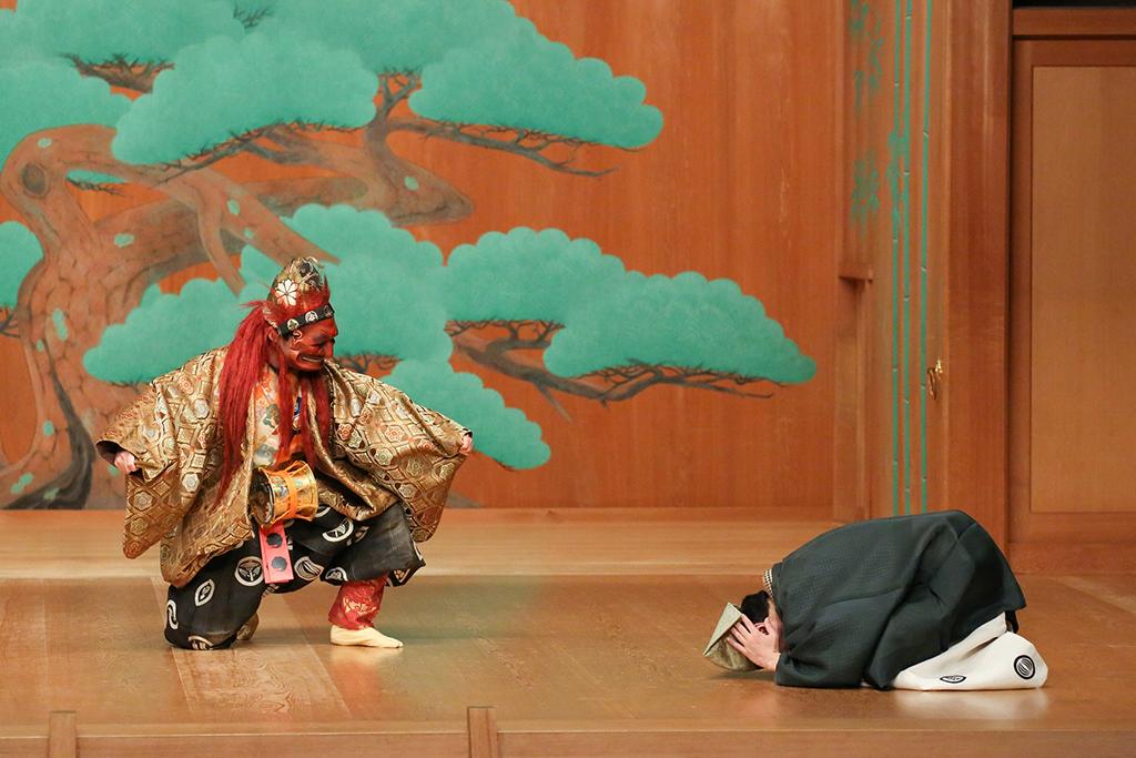 日本伝統のコメディ、狂言。初めてさんも間違いなく楽しめる!