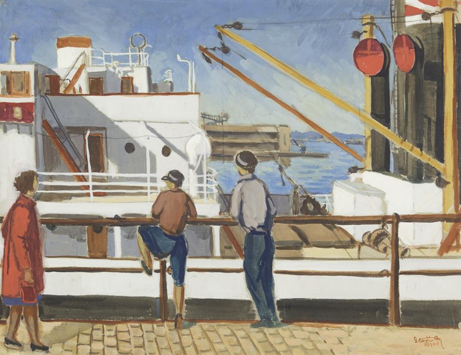 【d】  横浜市民ギャラリーコレクション展2021 うつし、描かれた港と水辺