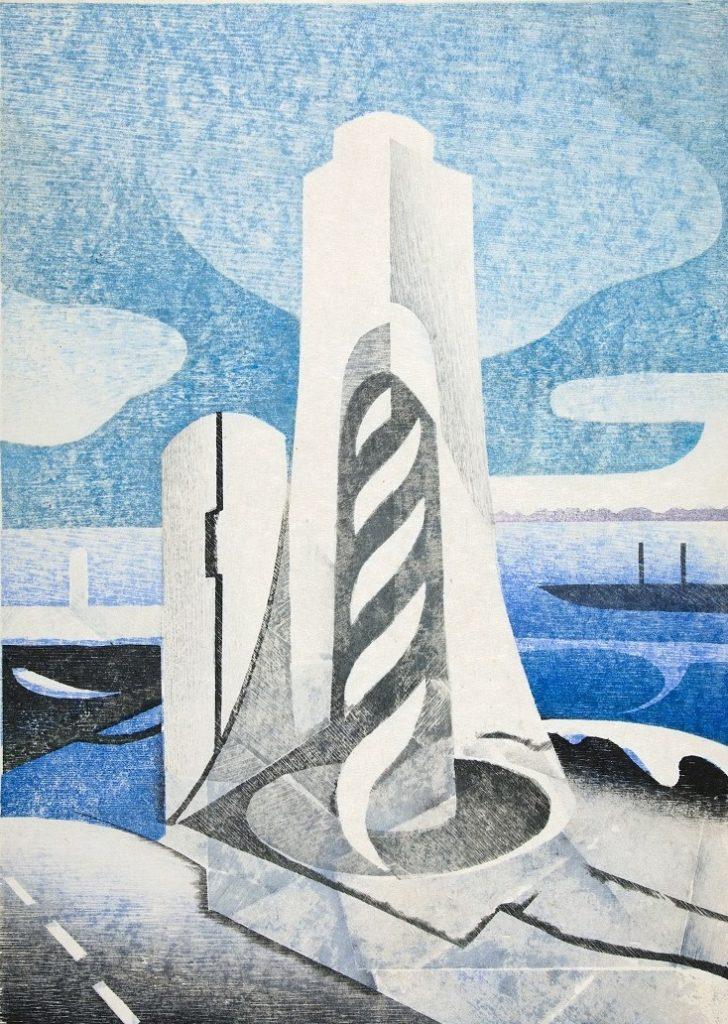 【d】  ワークショップ「木版画摺り体験 摺りであらわす水辺の情景」