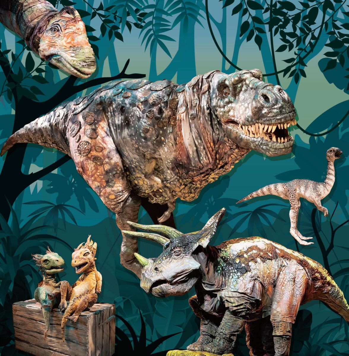 家族全員で、楽しく学べるリアル恐竜ショー  「恐竜パーク」が夏休みに開催決定!