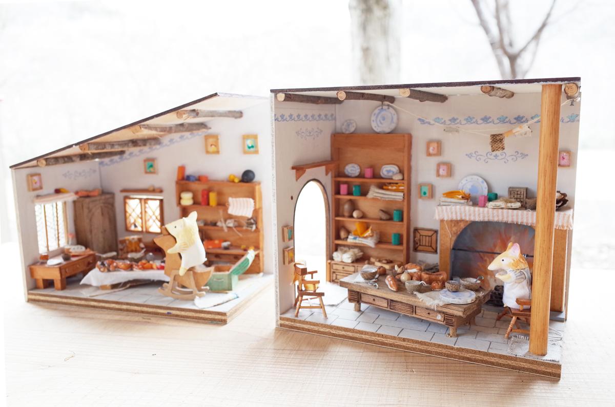 家具や小物を自由に配置。あなただけのドールハウスを作ろう!