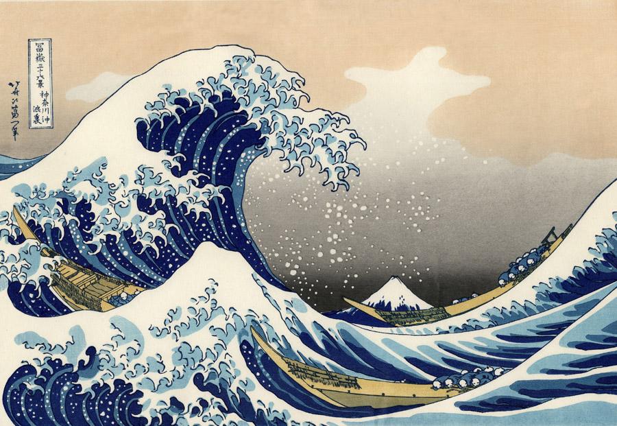 北斎にインスパイアされた三浦半島沖のアートな一日