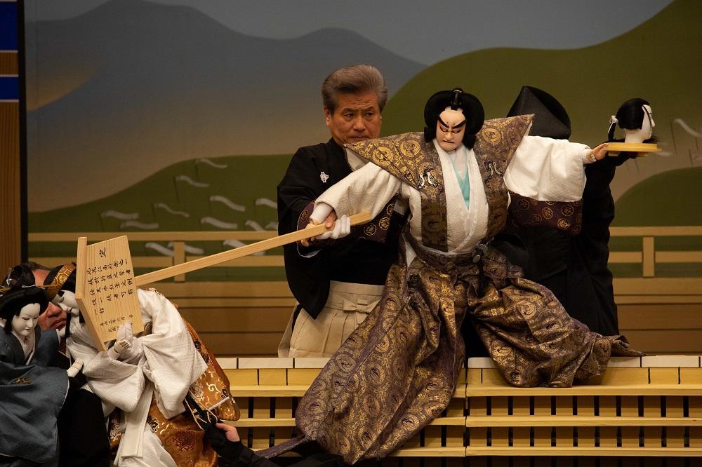 10月恒例の「人形浄瑠璃・文楽」神奈川公演。